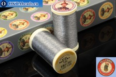 Nití Fil A Coudre Au Chinois Two-tone silver (125) 0,35mm, 100m