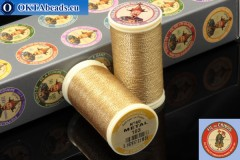 Threads Fil A Coudre Au Chinois Brass (103) 0,35mm, 100m