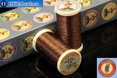 Threads Fil A Coudre Au Chinois Bronze (145) 0,35mm, 100m