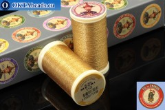 Threads Fil A Coudre Au Chinois Gilt (113) 0,35mm, 100m