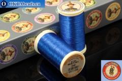 Нитки Китайский император, Fil A Coudre Au Chinois Pure blue (240) 0,35мм, 100м