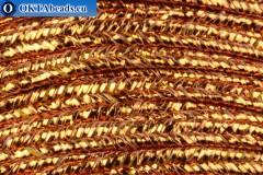Soutache copper 1m
