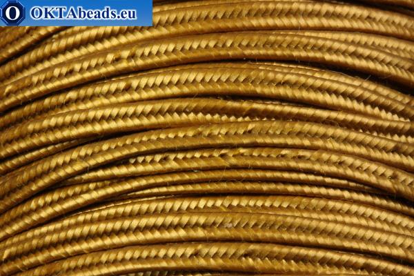 Soutache matte gold 1m