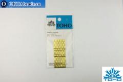 Toho иглы для бисероплетения 10 0,51мм, 6шт
