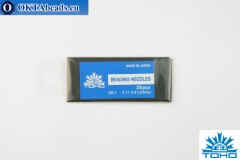 Toho beading needles 11 0,41mm, 25pc