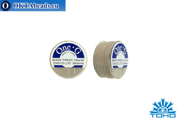 Toho One-G thread Beige 45,7m