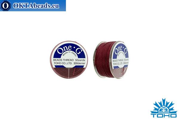 Toho One-G thread Burgundy 45,7m OneG-6