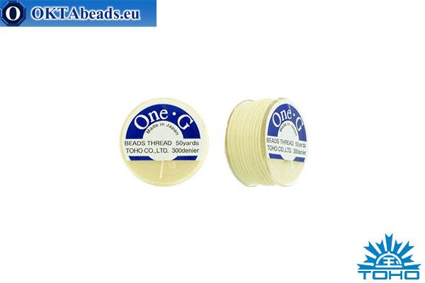 Toho One-G нити Cream 45,7м OneG-13