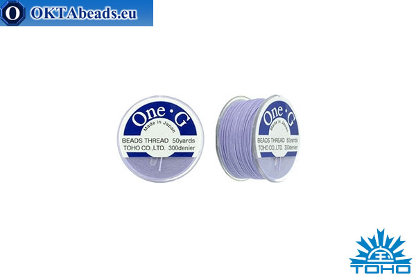 Toho One-G нити Light Lavender 45,7м OneG-19