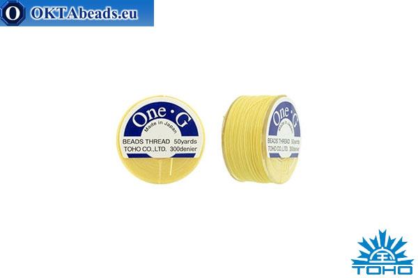 Toho One-G нити Light Yellow 45,7м OneG-9