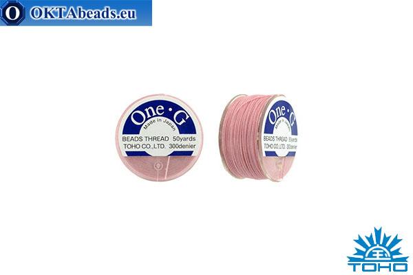 Toho One-G thread Pink 45,7m