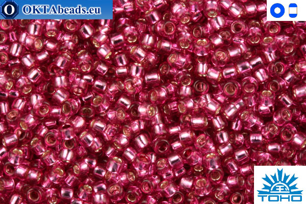 TOHO Beads Silver-Lined Mauve (2218) 11/0