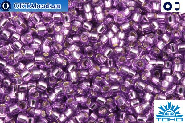 TOHO Beads Silver-Lined Lt Grape (2219) 11/0