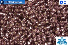 TOHO Beads Silver-Lined Lt Amethyst (26) 15/0 TR-15-26