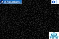 TOHO Beads Opaque Jet (49) 11/0