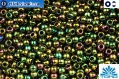 TOHO Beads Higher-Metallic Iris Olivine (508) 11/0