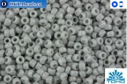 TOHO Beads Opaque Gray (53) 15/0