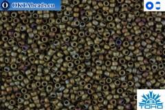 TOHO Beads Matte-Color Iris Brown (614) 15/0