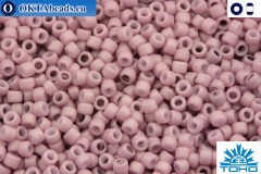 TOHO Beads Opaque-Pastel-Frosted Lt Lilac (766) 11/0