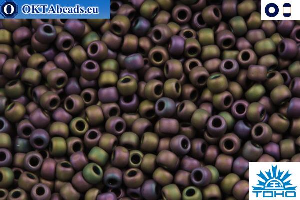 TOHO Beads Frosted Metallic Iris Purple (85F) 15/0 TR-15-85F