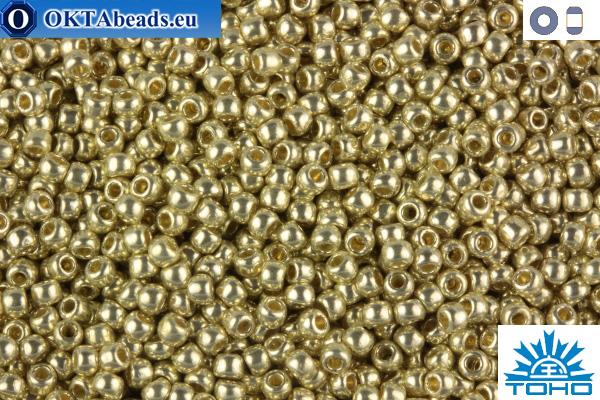 TOHO Beads Permanent Finish - Galvanized Aluminum (PF558) 11/0