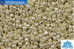 TOHO Beads Round Galvanized Aluminum (558) 15/0, 5gr TR-15-558