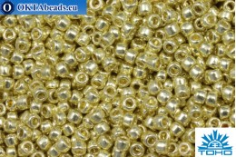 TOHO Beads Бисер Galvanized Yellow Gold (PF559) 15/0, 5гр TR-15-PF559