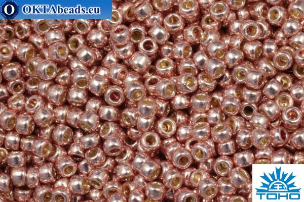 TOHO Beads Бисер PermaFinish Galvanized Sweet Blush (PF552) 15/0, 5гр TR-15-PF552