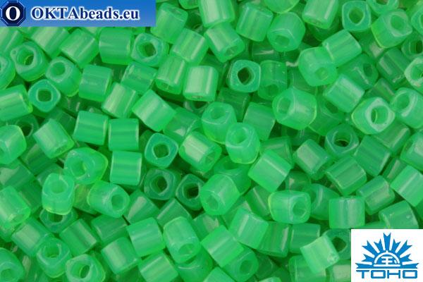 TOHO Beads Cube Ceylon Jade (156) 4mm TC-04-156