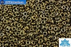 TOHO Beads Demi Round Bronze Antique Gold (225) 8/0