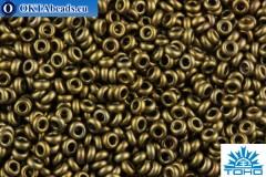 TOHO Beads Demi Round Bronze Antique Gold (225) 11/0