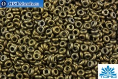TOHO Beads Demi Round Bronze Antique Gold (225) 8/0