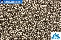 TOHO Beads Demi Round Nickel (711) 11/0