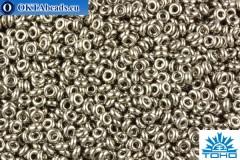 TOHO Beads Demi Round Nickel (711) 8/0