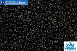 TOHO Beads Demi Round Opaque Jet (49) 11/0
