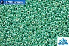 TOHO Beads Demi Round PermaFinish Galvanized Green Tea (PF561) 11/0, 5гр