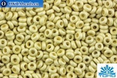TOHO Beads Demi Round PermaFinish Matte Galvanized Aluminum (PF558F) 11/0 TN-11-PF558F