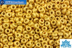 TOHO Beads Demi Round PermaFinish Matte Galvanized Starlight (PF557F) 11/0 TN-11-PF557F