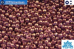 TOHO Beads Gold-Lustered Lilac (202) 11/0