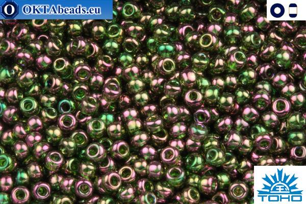 TOHO Beads Gold-Lustered Olivine (323) 11/0 TR-11-323