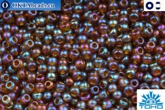 TOHO Beads Gold-Lustered Root beer (454) 11/0