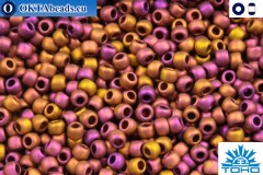 TOHO Beads Higher-Metallic-Frosted Copper Twilight (514F) 11/0