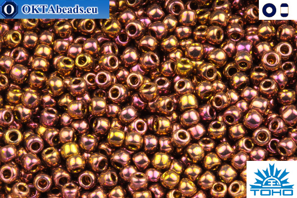TOHO Beads Higher-Metallic Gypsy Gold (514) 11/0 TR-11-514