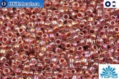 TOHO Beads Inside-Color Rainbow Crystal/Sandstone Lined (784) 15/0