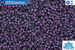 TOHO Beads Inside-Color Rainbow Rosaline/Opaque Purple Lined (928) 15/0