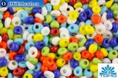 TOHO Beads Magatama Opaque Mix (BM50) 4mm TM-04-BM50
