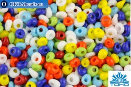 TOHO Beads Magatama Opaque Mix (BM50) 4mm TM-04-BM50