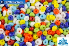 TOHO Beads Magatama Opaque Mix (BM50) 4mm