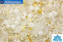 TOHO Beads Mix Hasu- White Mix (3212) TX-01-3212