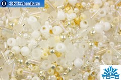 TOHO Beads Mix Hasu- White Mix (3212)